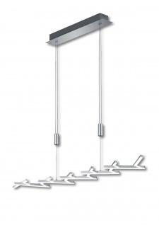 Deutsche LED Pendelleuchte Höhenverstellbar Chrom Dimmbar 3600 Lumen