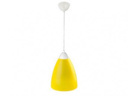 Fischer Leuchten Hängeleuchte Gelb Pendelleuchte Acrylglas Pendel Lampe Licht