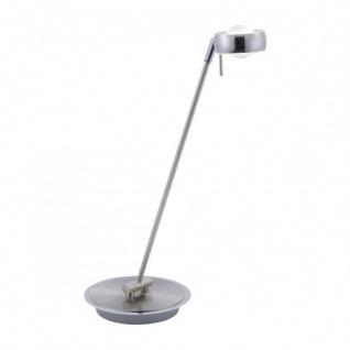 LED Tischleuchte Stahl Schreibtischleuchte Fernbedienung Farbwechsel Dimmbar RGB