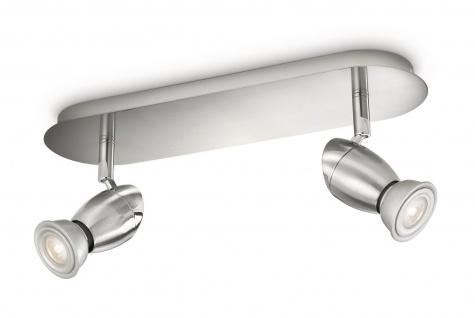 Philips myLiving Spot Chestnut LED Strahler Deckenleuchte 2 Fassungen