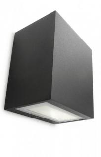 PHILIPS Ledino, Wandleuchte Flagstone mit 7, 5W, inklusive LED-Leuchtmittel, 1-flammig 172093016