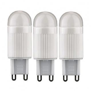 Paulmann LED Lampe 3er Set Stiftsockel G9 Leuchtmittel 2, 4W