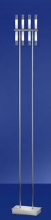 Standleuchte Stick 8-flg. Stehleuchte Design Modern Bodenleuchte Chrom 178cm