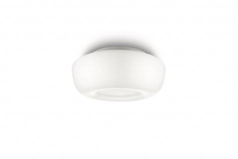 Badezimmerleuchte Atoll Aqua IP44 1x E27 bis 60W Deckenlampe Opalglas für LED
