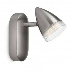 Philips myLiving Spot LED Maple Silber Schwenkbar Leuchte Wandleuchte 53210-17-16