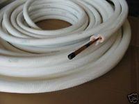 Hochwertige Isolierte Kältekupferleitung mit integrierter Saug & Steigleitung 1/4 Zoll = 6, 35 mm & 3/8 Zoll = 9, 52 mm