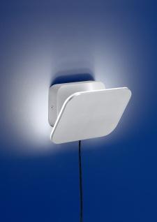 Deutsche LED Wandleuchte Aluminium 960 Lumen 8 Watt Schalter Drehbar