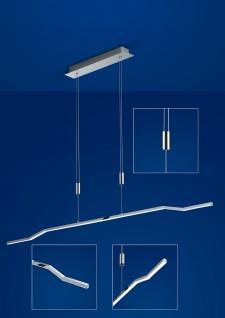 Deutsche LED Pendelleuchte Höhenverstellbar Chrom Dimmbar 3150 Lumen