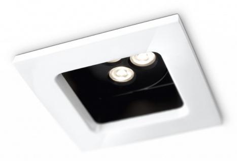 Philips Einbau Quadratisch SmartSpot Einbaustrahler Weiss LED