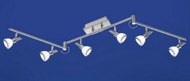 Mistral: moderne LED Deckenleuchte/ moderner Deckenstrahler