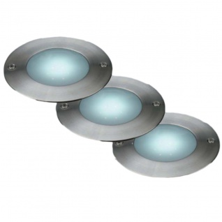"""LED Bodeneinbaustrahler Lakonia"""" (3er Pack)"""""""