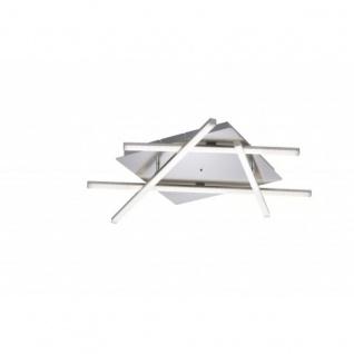 LED Deckenleuchte Farbwechsler Fernbedienung Dimmbar Silber 2400lm