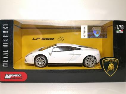 1:43 Lamborghini LP 560.4 weiss - Mondo Motors