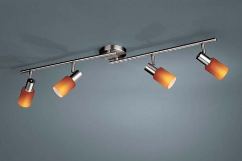 Energiesparleuchte 4er Spotbalken Pronto Massive Leuchten 50084-55-10, & OVP - Vorschau 1