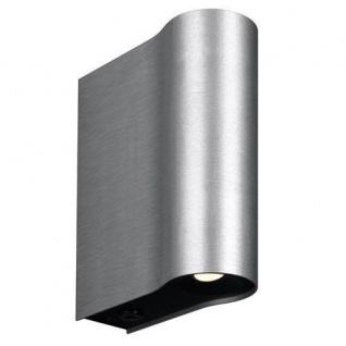 Wandleuchte LEAH LED Alu 2x2, 5W SEL 33259/48/10 #ml