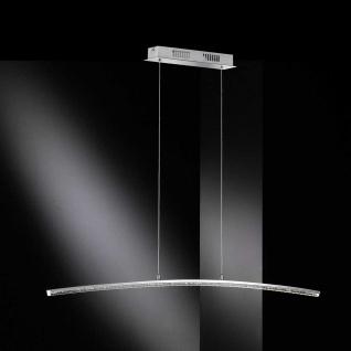LED Pendelleuchte 26, 4W/230V Chrom Höheneinstellbar 1720lm Dimmbar 7x100cm - Vorschau 2