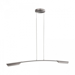 Philips Ledino Pendelleuchte Modern Hängeleuchte LED Leuchte Silber / Grau