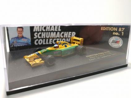 MINICHAMPS Michael Schumacher 1996 Benetton Ford B193 F1 Ausgabe 87, Nr. 1, M1: 87