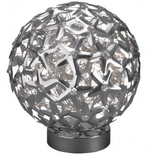 Tischleuchte Mercier Tischlampe Modern Kugelleuchte Kugel 5x G4 je 20W Halogen