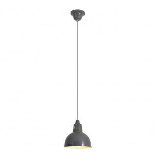 Näve Metallpendel Dunkelgrau Metall Ø 19cm Industriedesign Ø 19cm Retro