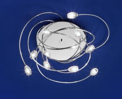 Deckenleuchte Speedo B-Leuchten Deckenlampe Design Modern 9 Fassungen