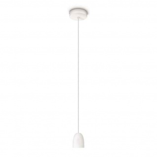Philips myLiving LED Pendelleuchte Wolga Weiss Pendel Leuchte Modern 40920-31-16
