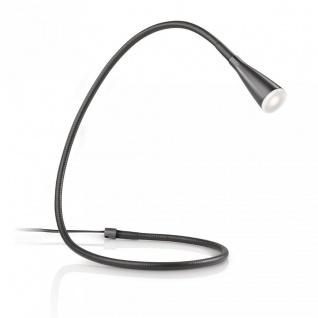 Tischlampe LED Tischleuchte PowerLED Schwarz 2, 5W