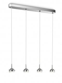 Philips myLiving Pendelleuchte Cypress Chrom LED Hängeleuchte 53225-11-16