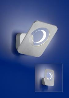 Deutsche LED Wandleuchte Aluminium 560 Lumen 5 Watt Schwenkbar Kippbar