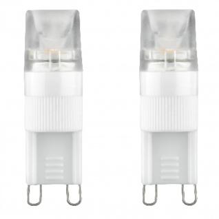 Paulmann LED 230V Stiftsockel G9 Leuchtmittel 2er Set je 1, 5W Lampe Warmweiß