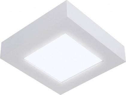 LED Deckenleuchte Neutral Weiß 4000K 1000lm 17x17cm