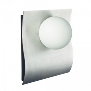 Philips Power LED 7, 5W Wandaussenleuchte Edelstahl Glas IP44