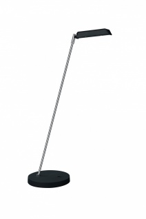 LED Tischleuchte Schreibtischleuchte Büroleuchte Craig Chrom / Schwarz