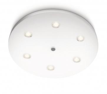 Philips Ledino Syma LED Deckenleuchte Modern Weiss Leuchte