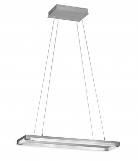 Honsel LED Pendelleuchte Mattnickel horizontal & vertikal verstellbar Dimmbar