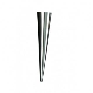 Wandleuchte Modern Metall Silber Design Wandfackel Fackel