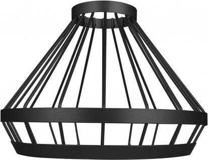 Osram Vintage 1906 Cage E27 max. 60W Schwarz Lampenschirm Ø 23, 9cm Alu