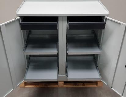 Marken Schubladenschrank Werkzeugschrank Werkstattschrank 6 Schubladen 30kg belastbar
