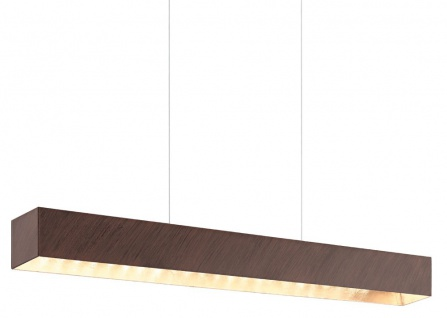 Eglo LED Pendelleuchte 850lm Antik Braun Gold Metall 68cm