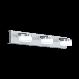 Eglo LED Wandleuchte Badleuchte 3 Flammig IP44 Chrom