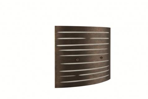 Wandleuchte Matto Wandlampe Leuchte Modern Braun