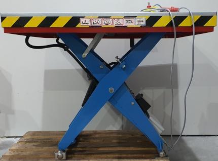 2000kg Marken Hubtische Hebebühne Scherenhubtisch Elektro-Hydraulik 1, 25x1, 0m HH 1, 03m
