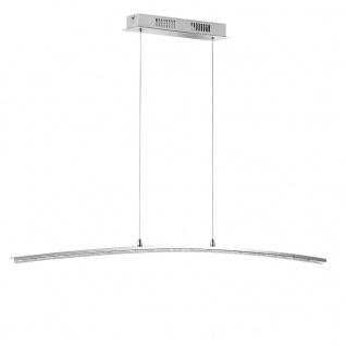 LED Pendelleuchte 26, 4W/230V Chrom Höheneinstellbar 1720lm Dimmbar 7x100cm