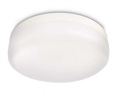 Philips LED Badezimmer Deckenleuchte Baume Weiss Badleuchte 32053-31-16