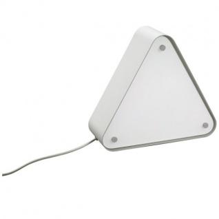 CALLAGAN Tischleuchte Retro Glas Energiespar Leuchte Modern Aluminium