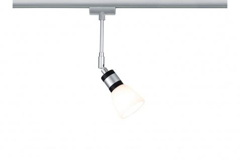 Paulmann URail LED Spot Titurel 2, 2W Chrom matt für Schienensystem Schwenkbar G9