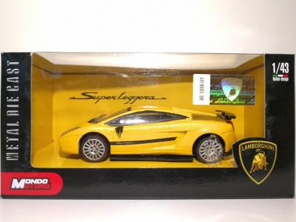 1:43 Lamborghini Superleggera gelb - Mondo Motors