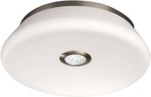 Badezimmerleuchte Deckenleuchte Opalglas Nachtlicht LED Energiespar IP44 Ø 36cm