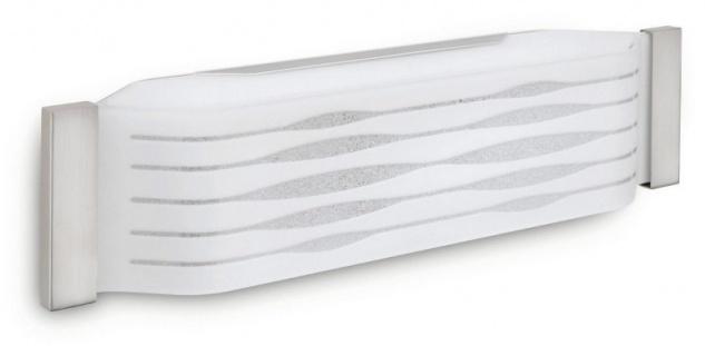 "Philips myLiving Wandleuchte Boni"" inklusiv Eco Classic Leuchtmittel 2 x 42W E27, Wand oder Deckenmontage 455711716"""