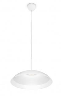 Philips LED Pendelleuchte Finavon Weiss Hängeleuchte Leuchte Pendel 40905-67-16